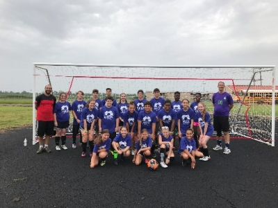 STEM Hosts Summer Soccer Camp