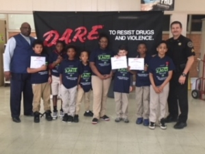 Upper Pointe Coupee Elementary Celebrates D.A.R.E. Graduation