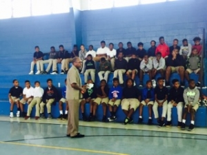 Rosenwald Alumnus Visits Students to Offer Words of Advice