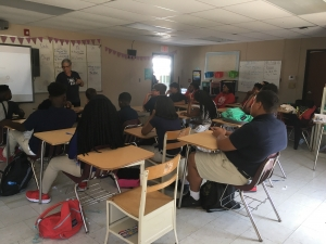 Rougon Teacher Encourages Students to Read and Examine Future Pathways