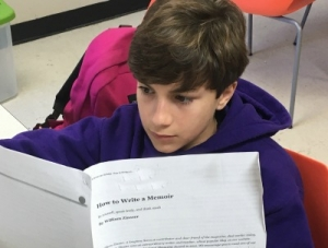 STEM Students Explore Memoirs