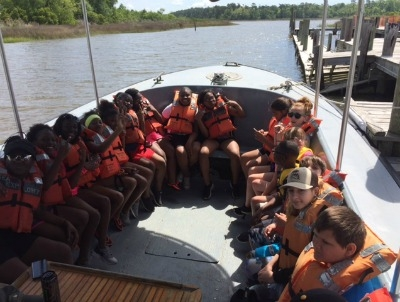 Students from Rougon Visit Ocean Springs