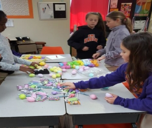 "STEM Participates in ""Project Easter Basket"""