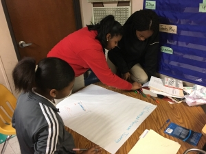 Eighth-Graders at Rougon Explore Character Traits