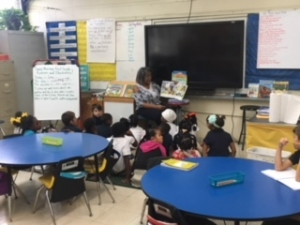 First Grade Students at UPCE Celebrate Reading Everyday