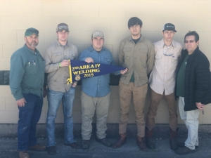 LHS Welding Team Takes 2nd Place Honors