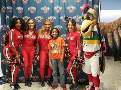 Rosenwald's 4-H Night with the Pelicans