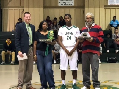 Senior Basketball Players Honored