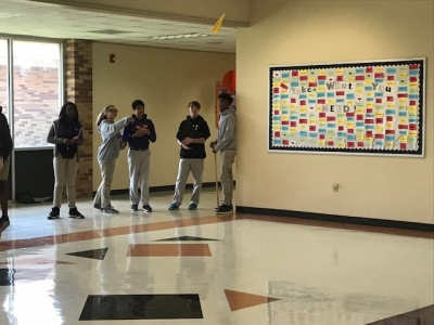 Students at STEM are Throwing Paper Airplanes at School! Oh My!