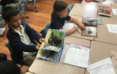 Rougon Elementary 1st Graders are Learning about Wildlife & Endangered Animals