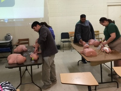 Livonia Students Earn CPR Certification