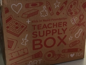 Teacher Supply Box Award at Rosenwald