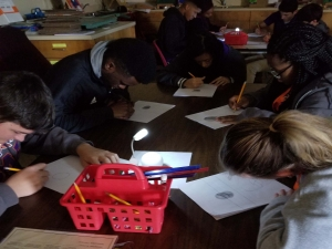 "STEM Students ""Know"" Light and Shading"