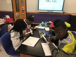 Rosenwald's 5th Graders Attend Bayou State STARBASE