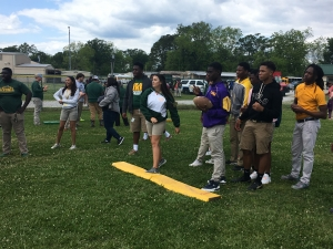 LHS Students Participate in Louisiana Heritage Day