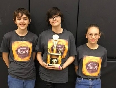STEM Robotics Team Places Second