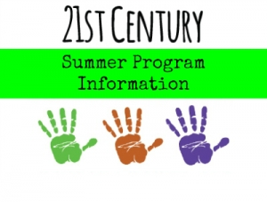 21st Century Summer Program Information