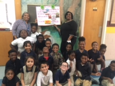 Upper Pointe Coupee Elementary Celebrates Ms. Cynthia Franklin on Secretary's Day