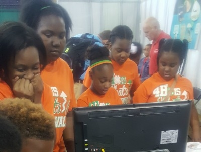 Students from Rosenwald Participate in Ag Magic
