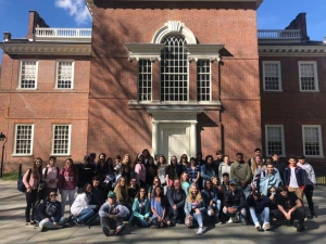 STEM Students Embark on AP US History Trip