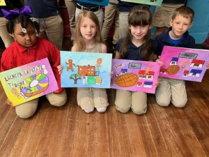 Rougon's French Immersion Students Create Kamishibai