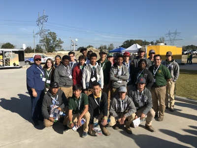 LHS Students Attend Lift and Move USA Event