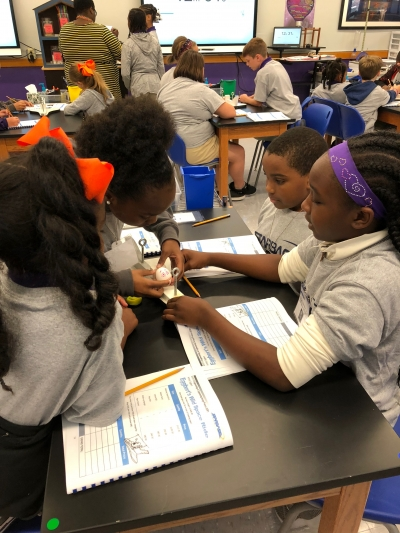FIFTH GRADERS PARTICIPATE IN STARBASE