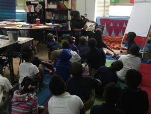 Rosenwald's Resource Officer Builds Relationships with Students