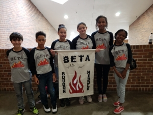 Rougon Middle School Students Use BETA to Light Their Fire