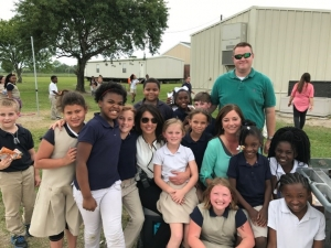 Valverda Hosts Picnic with the Principals
