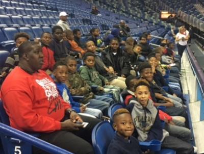Rosenwald Students Attend New Orleans Pelicans Game