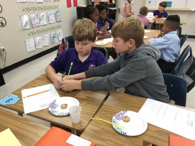 SMA's 4th Graders Learn about Erosion