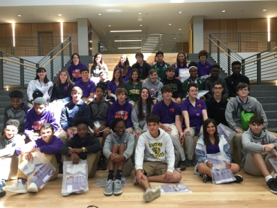 STEM Students Visit the LSU College of Engineering